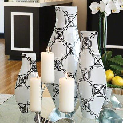Coil Vase by Global Views