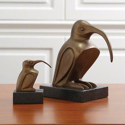 Long Beak Bird Figurine by Global Views