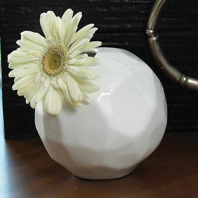 Global Views Snowball Bud Vase
