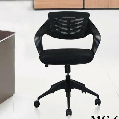 Urban Mid-back Mesh Office Chair with Casters by Manhattan Comfort