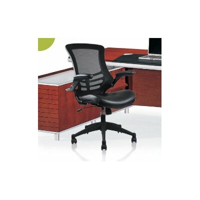 Rugged High-Back Mesh Conference Chair with Wheels by Manhattan Comfort