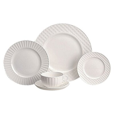 Night & Day 5 Piece Place Setting Set by Wedgwood