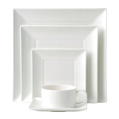 Ashlar 5 Piece Square Place Setting by Wedgwood