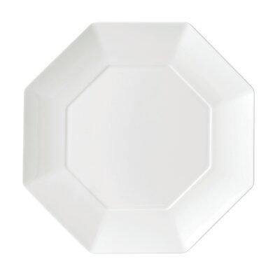 Wedgwood Ashlar White Octagonal Dinner Plate