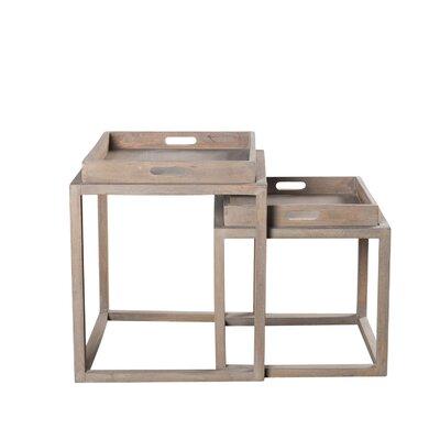 Nealon 2 Piece Nesting Tables Set by DELETE Daily Sales - Wildon Home