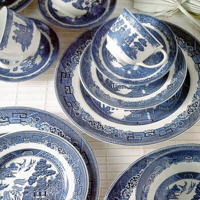 Willow Blue Dinnerware Collection by Johnson Brothers