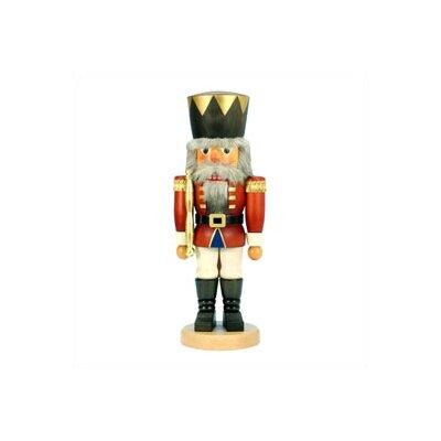 Tall Red King Nutcracker by Christian Ulbricht