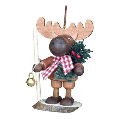 Alexander Taron Christian Ulbricht Little Roamer Elk Ornament