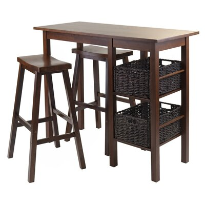 Egan 5 Piece Pub Table Set by Winsome