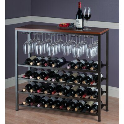 Michelle 40 Bottle Hanging Wine Rack by Winsome