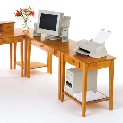 Studio Computer Desk with Keyboard Tray by Winsome