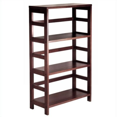 Winsome Espresso Wide 3 Section Storage Shelf