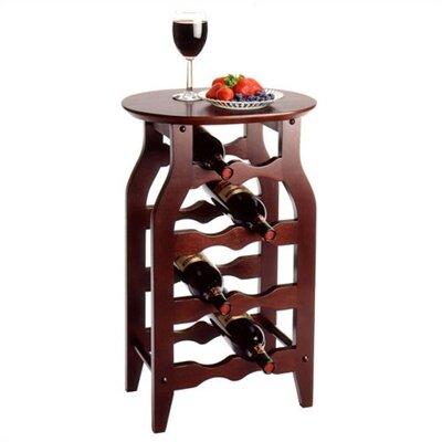 Espresso 8 Bottle Wine Rack by Winsome