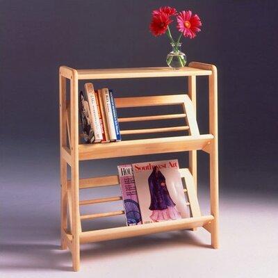 "Winsome Basics Tilted 30"" Standard Bookcase"