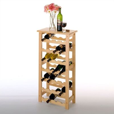 Basics 28 Bottle Wine Rack by Winsome