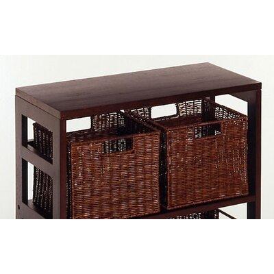 """Winsome Espresso 29.21"""" Standard Bookcase"""