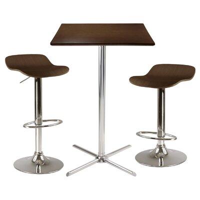 Winsome Kallie 3 Piece Pub Table Set