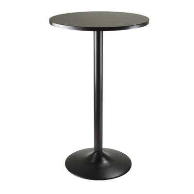 Obsidian Counter Height Pub Table by Winsome