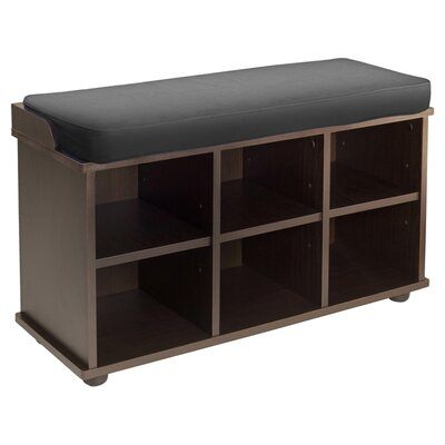 Townsend 6 Cubby Storage Bench by Winsome