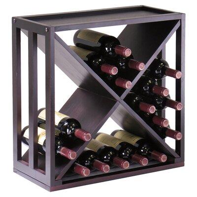 Winsome Kingston 24 Bottle Wine Rack