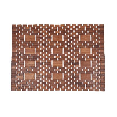 Entryways Exotic Woods Mills Doormat