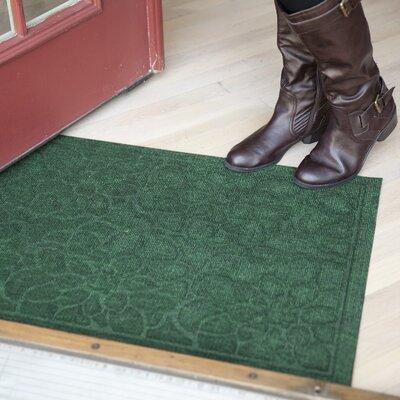 Entryways Weather Beater Flowers Doormat