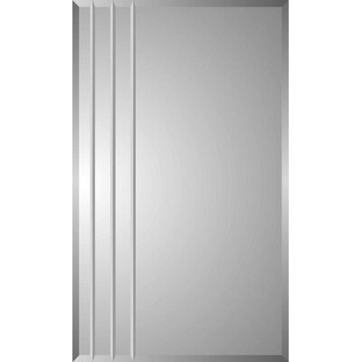 "Spacecab Rigel 16"" x 26"" Recessed Beveled Edge Medicine Cabinet Product Photo"