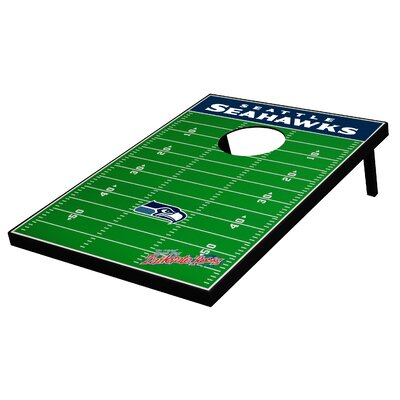 Seattle Seahawks Football Bean Bag Toss Game by Tailgate Toss