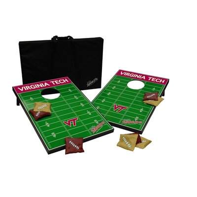 NCAA 10 Piece Cornhole Game Set by Tailgate Toss