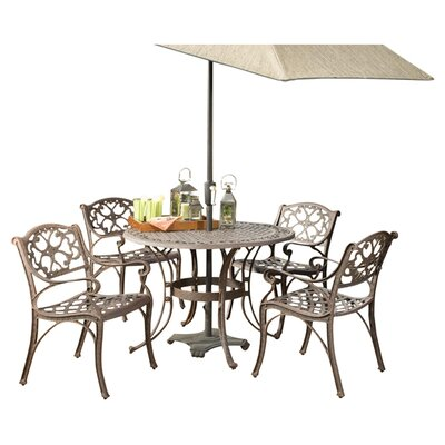 Home Styles 5 Piece Outdoor Dining Set I