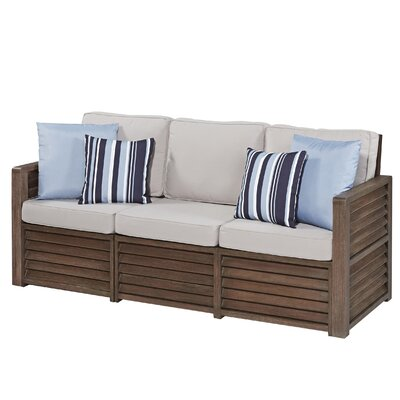 Barnside Deep Seating Sofa with Cushions by Home Styles