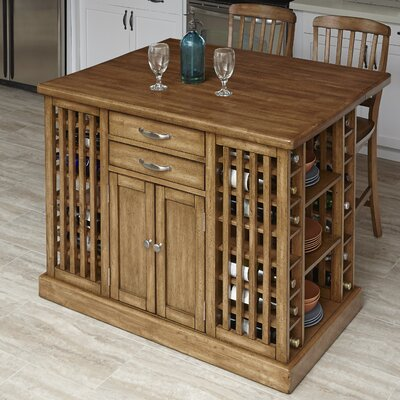 The Vintner 3 Piece Kitchen Island Set Product Photo