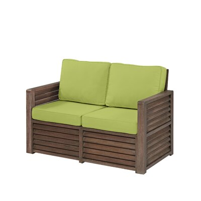 Barnside Love Seat with Cushions by Home Styles
