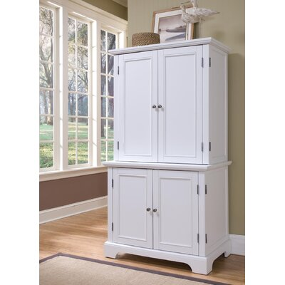 Bedford Compact Office Cabinet and Hutch by Home Styles