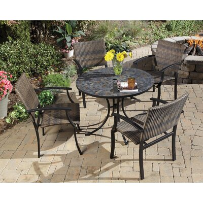 Stone Harbor 5 Piece Outdoor Dining Set by Home Styles