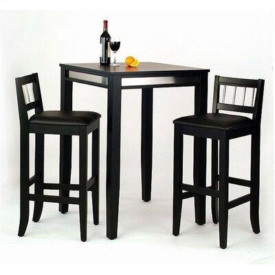 Home Styles Manhattan Pub Table Set
