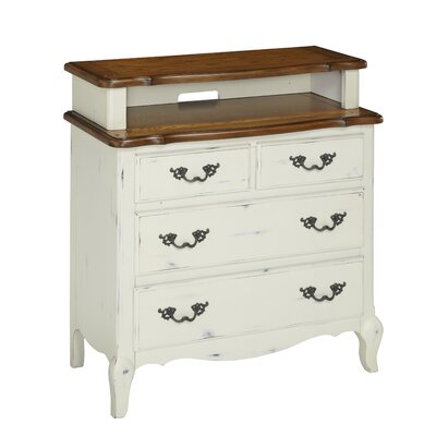 French Countryside 4 Drawer Media Chest by Home Styles