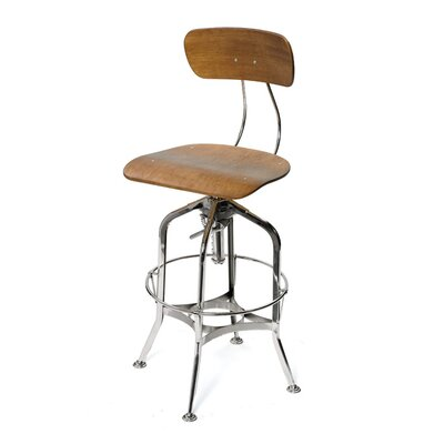 Watering Hole Adjustable Height Bar Stool by Hip Vintage