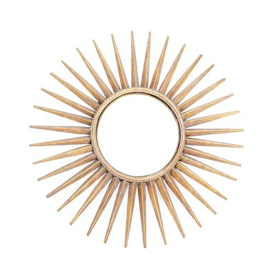 Sunray Wall Mirror by Hip Vintage