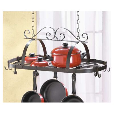 Zingz & Thingz Basic Kitchen Hanging Pot Rack