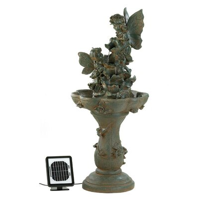 Fairy Friends Solar Water Fountain by Zingz & Thingz