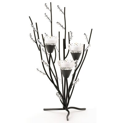 Zingz & Thingz Frosted Branches Candle Holder