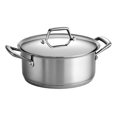 Prima 5 Qt. Round Dutch Oven with Lid by Tramontina