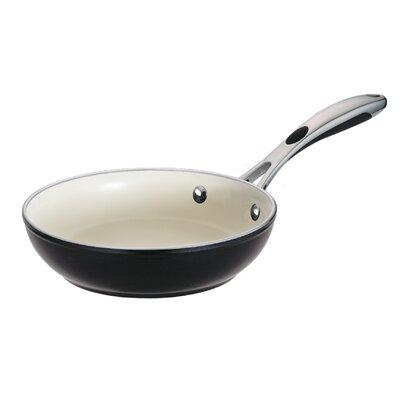 Ceramica 01 Deluxe Porcelain Enamel Metallic Black Fry Pan by Tramontina