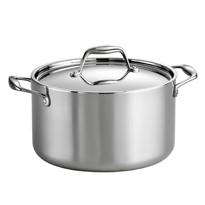 Gourmet 6 Qt. Stock Pot with Lid by Tramontina
