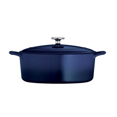 Series 1000 5.5 Qt. Cast Iron Oval Dutch Oven by Tramontina