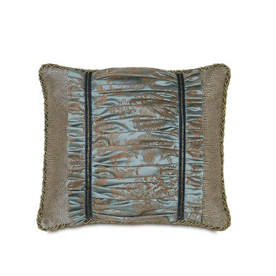 Monet Foscari Ruched Down Throw Pillow by Hen Feathers