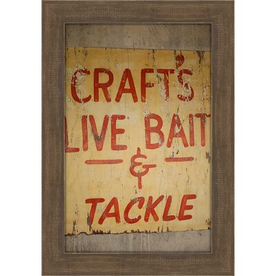Craft's by Christie Brace Framed Textual Art by Melissa Van Hise