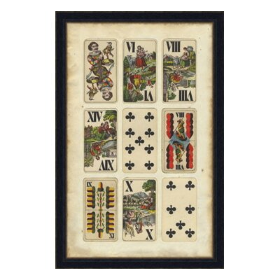 European Card Collection I Framed Graphic Art by Melissa Van Hise