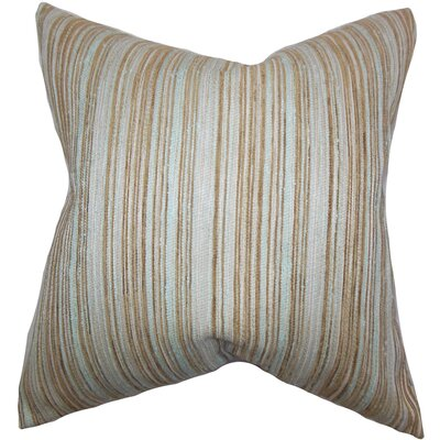 Bartram Stripes Throw Pillow by The Pillow Collection
